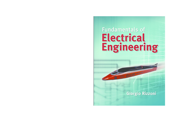PDF) Fundamentals of Electrical Engineering by Giorgio Rizzoni (1 ...