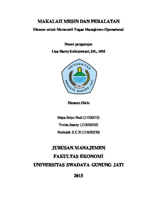 Contoh Judul Skripsi Manajemen Operasional Ide Judul Skripsi Universitas