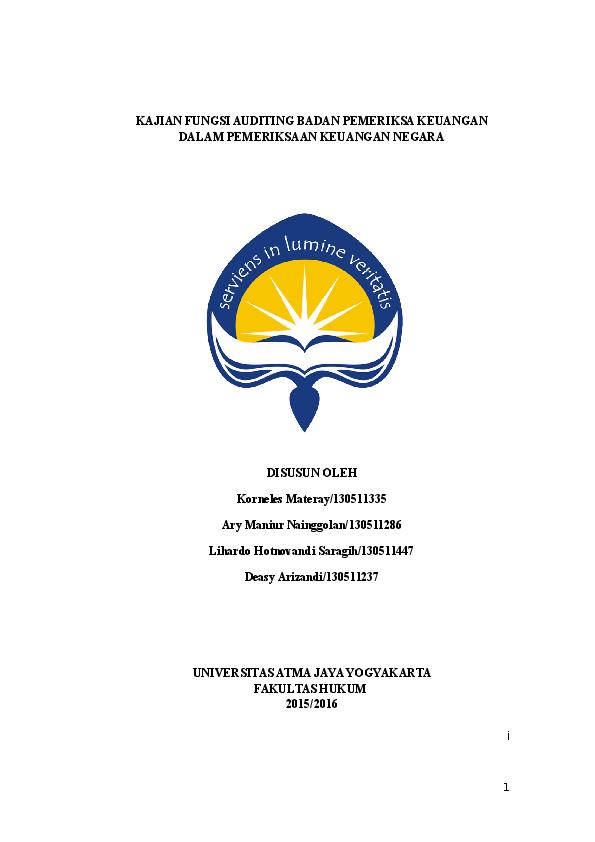 Atma Jaya Yogyakarta University Law Academia Edu