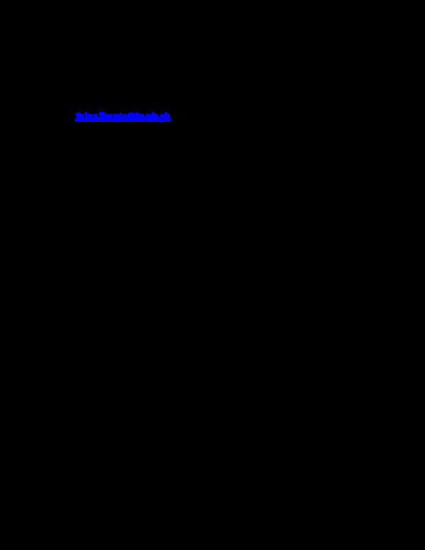 PDF) ECN208: Mathematical Economics II (Course Outline/Reading List