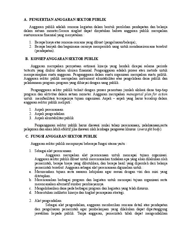 Jurnal Akuntansi Sektor Publik Research Papers Academia Edu