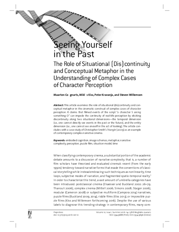 Seeing Yourself in the Past: The Role of Situational (Dis