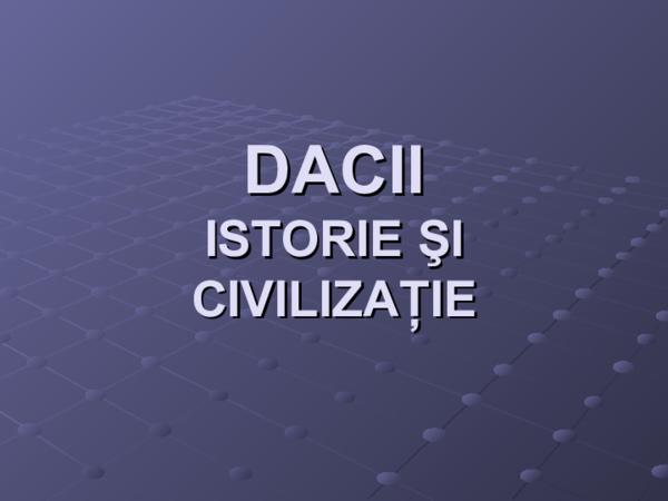 PPT) Dacii   Pop Catalin - Academia edu