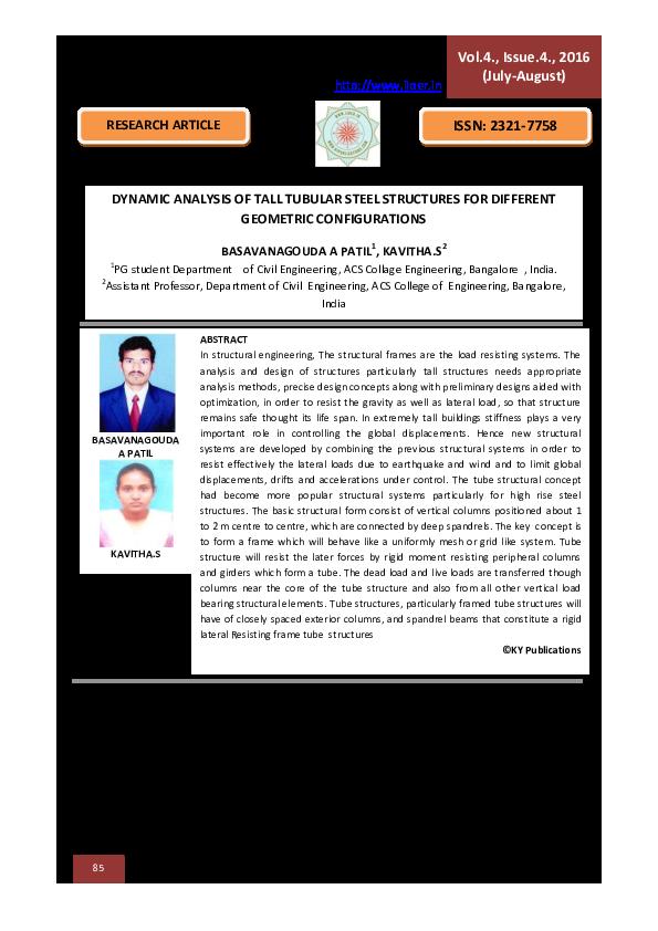 PDF) BASAVANAGOUDA A PATIL pdf   International Journal of