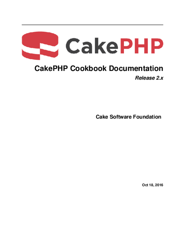 CakePHP Dating sito Web
