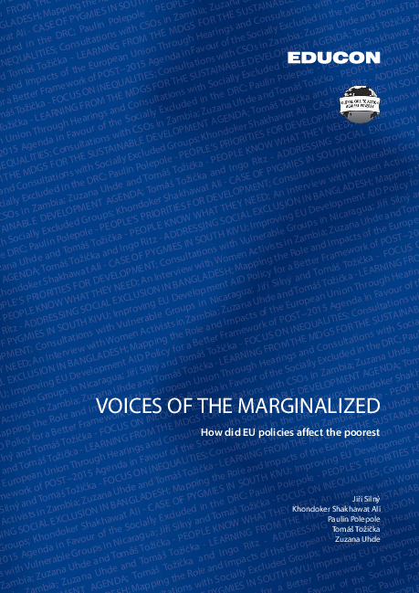 PDF) voices of the marginalized pdf   Khondoker Shakhawat Ali