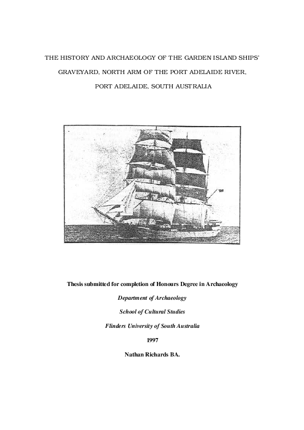 PDF) The History and Archaeology of the Garden Island Ships