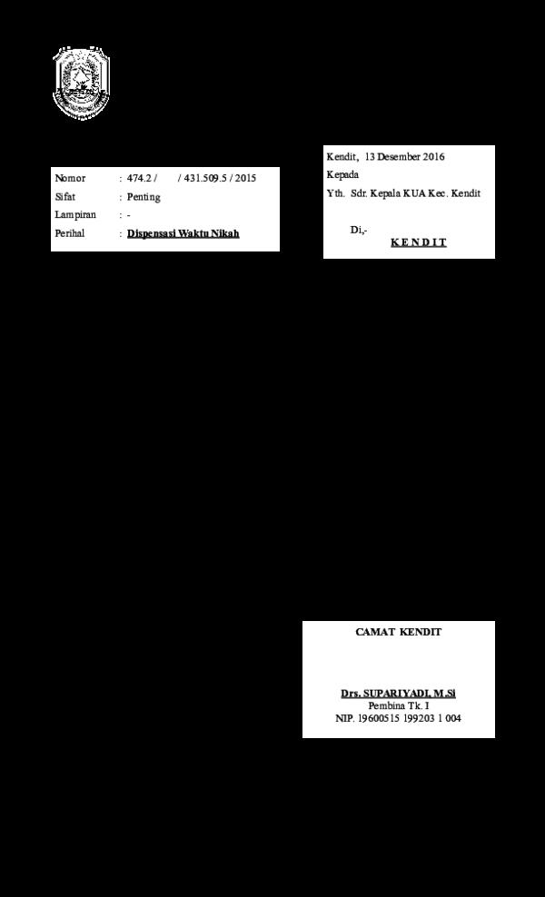 Doc Dispensasi Nikah Afan Agoes Prajitno Academiaedu