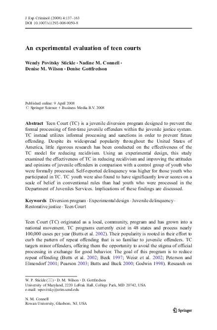 Teen court print speaking, opinion