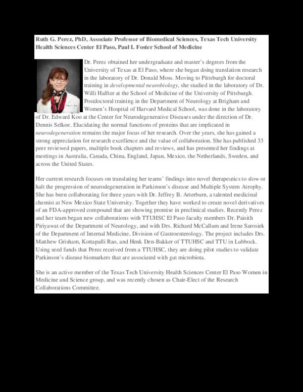 PDF) Perez Bio pdf | Ruth Perez - Academia edu