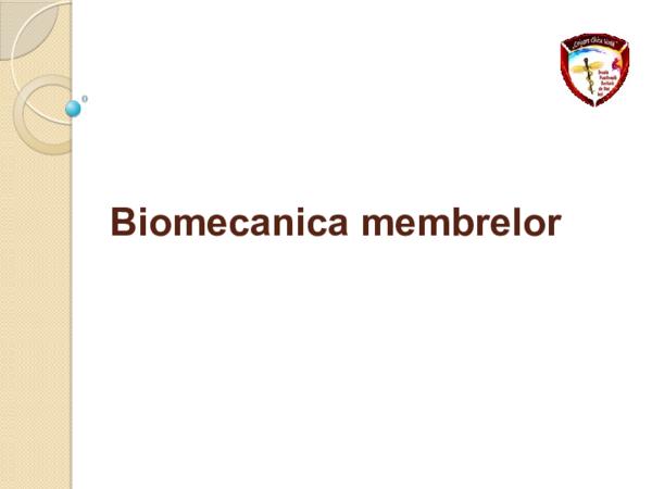 biomecanica mainii pdf articulația umărului doare brațul nu se ridică