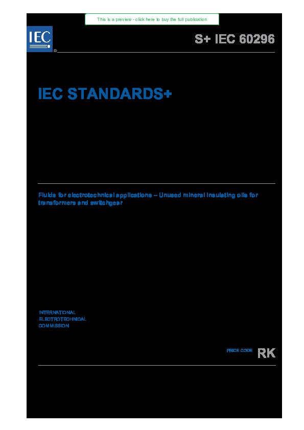 IEC 60296 | INGENIERIA MACRONIVEL - Academia edu