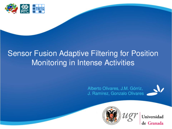 PDF) Sensor Fusion Adaptive Filtering for Position Monitoring in