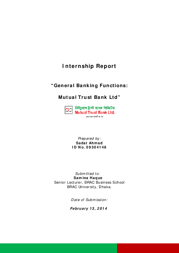 Deposit products mutual trust bank limited.