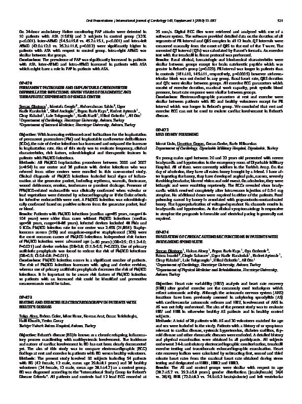 PDF) OP074 EVALUATION OF CARDIAC AUTONOMIC FUNCTIONS IN PATIENTS ...