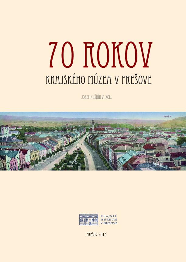 PDF) 70 rokov Krajského múzea v Prešove  a9cced208dc