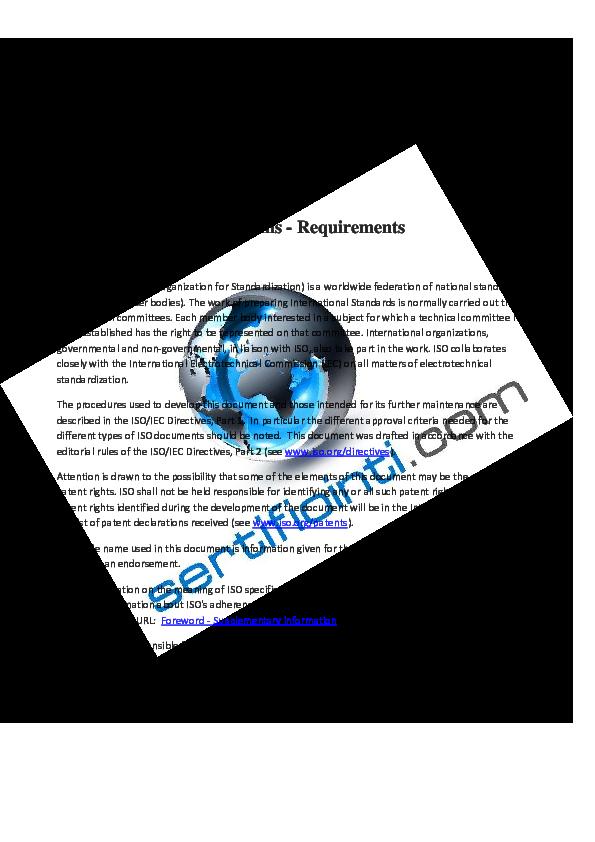 iso 9001 version 2008 standard pdf español