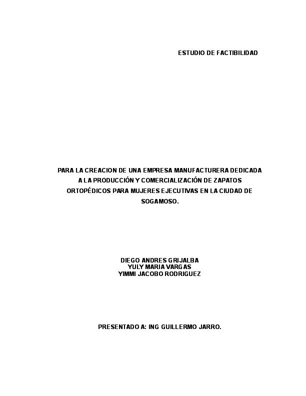 Zapatos ortopedicos ejecutivos final Formulacion  9a78b114f27d