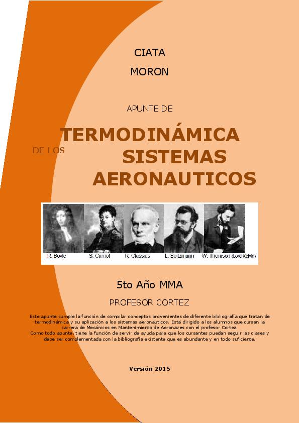 b07ca8b2fbc6 PDF) CIATA MORON APUNTE DE TERMODINÁMICA DE LOS SISTEMAS ...