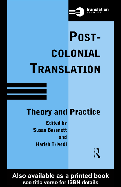 PDF) Post-Colonial Translation: Theory and Practice | Susan