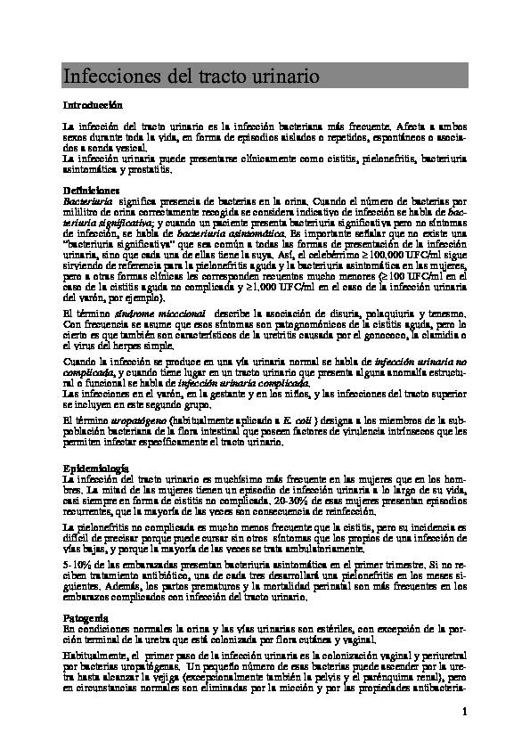 prostatitis bacteriana crónica causada por cefuroxima