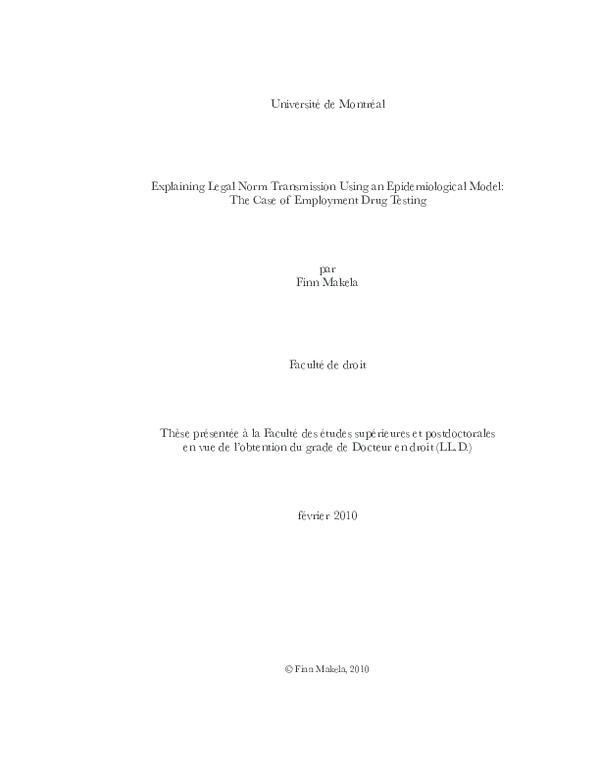 PDF) Explaining legal norm transmission using an epidemiological