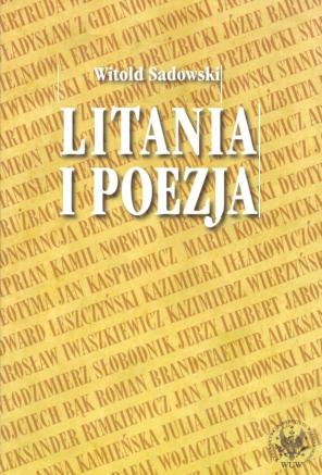 Pdf Litania I Poezja Na Materiale Literatury Polskiej Od