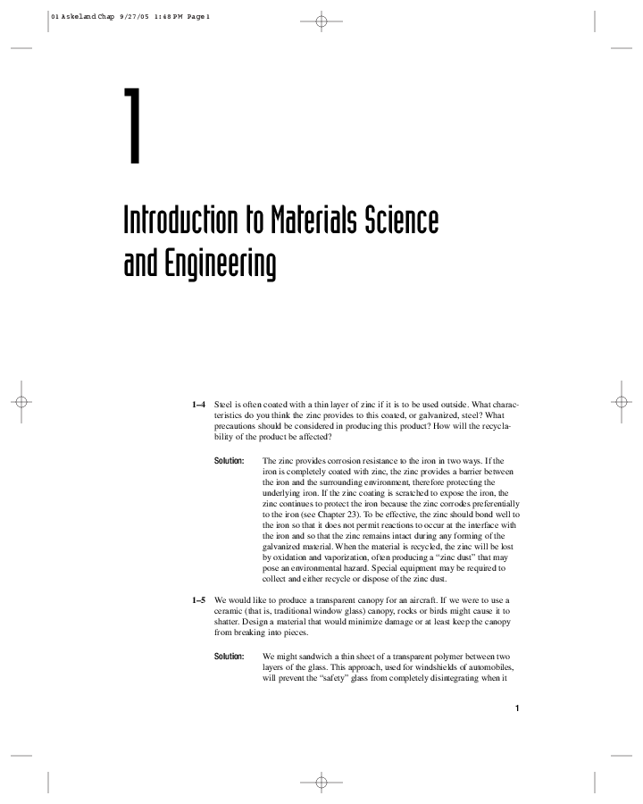 PDF) Solution Manual The Science and Engineering of