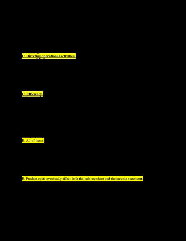 DOC) Management Accounting notes | Oscar Chong - Academia edu