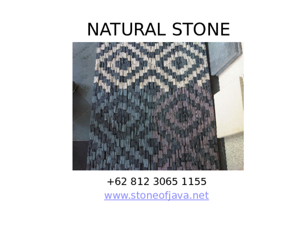 PPT) natural stone cladding | natural stone - Academia edu