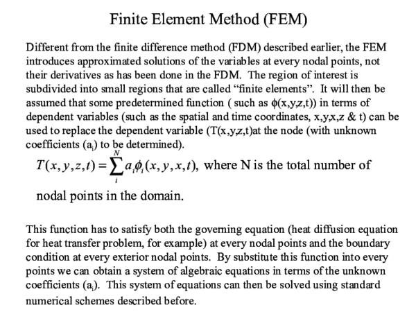PPT) Finite element method   Afzaal Hamdani - Academia edu