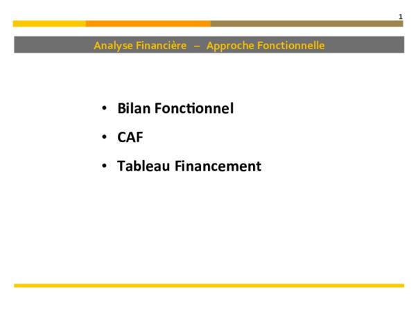 Pdf Analyse Financiere Approche Fonctionnelle Axel Sauvan Academia Edu