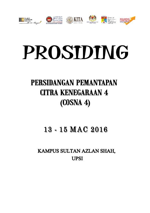 Prosiding Cosna4pdf Dr Hairol Anuar Mak Din And Hasnida Ghazali