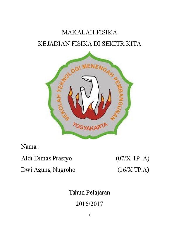 Doc Makalah Fisika Aldi Dimas Academia Edu