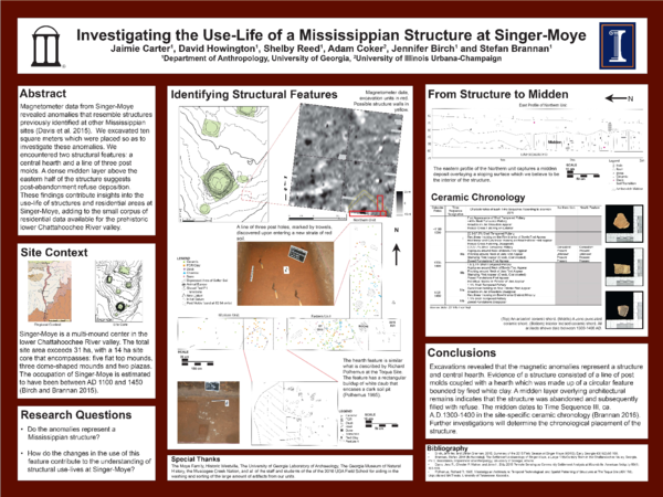 Investigating the Use-life of a Mississippian Structure at