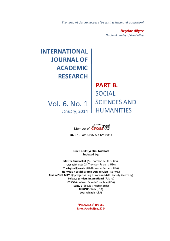 PDF) THE CORRELATION BETWEEN NUTRITION AND UNIVERSITY STUDENTS' SELF