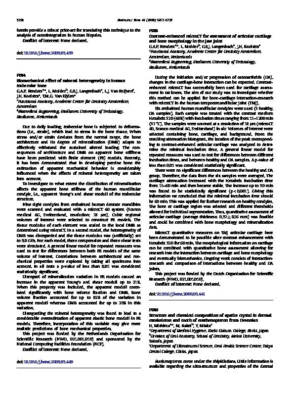 PDF) Biomechanical effect of mineral heterogeneity in human