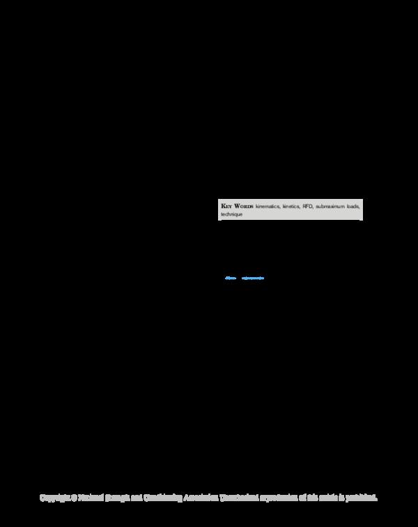 PDF) A Biomechanical Comparison of the Traditional Squat