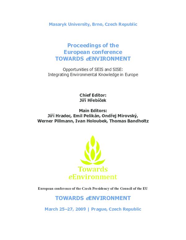 PDF) Building the SISE : an environmental ontology   Pilar