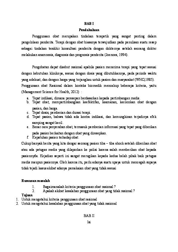 Doc Frs Peresepan Rasional Dora Dori Academia Edu
