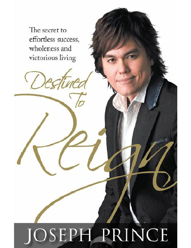 PDF) Free  pdf download ! DESTINED TO REIGN - Joseph Prince