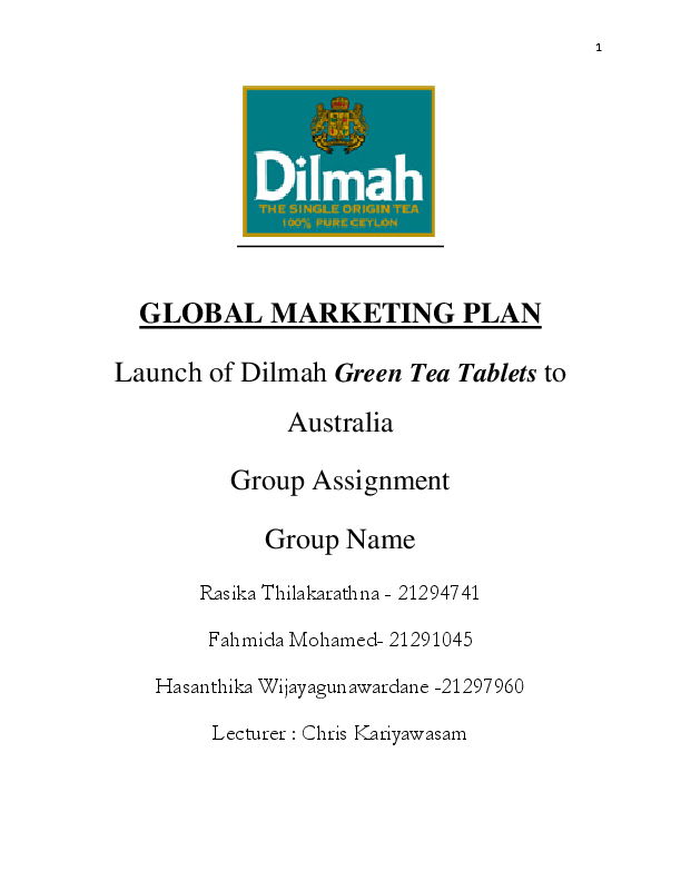 PDF) Final_Assignment_1_Submission (1) GM pdf | Fahmida Mohamed