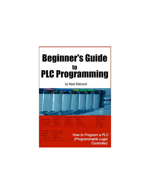 PDF) Beginners Guide to PLC Programming excerpt | Saryono