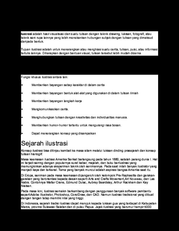 Doc Pengertian Ilustrasi Abdul Hakim Academia Edu