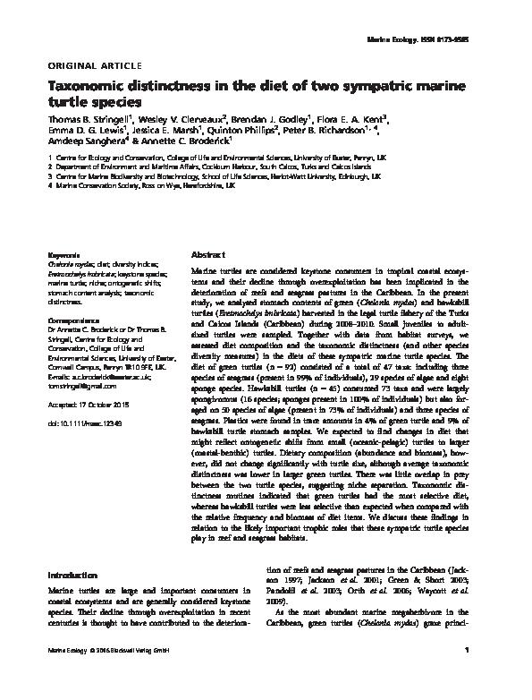 Ecology marine pdf to introduction