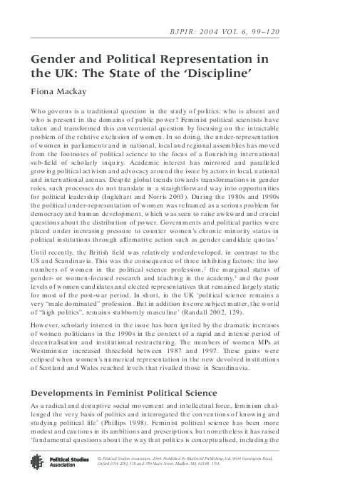 Social Politics: International Studies in Gender, State and Society