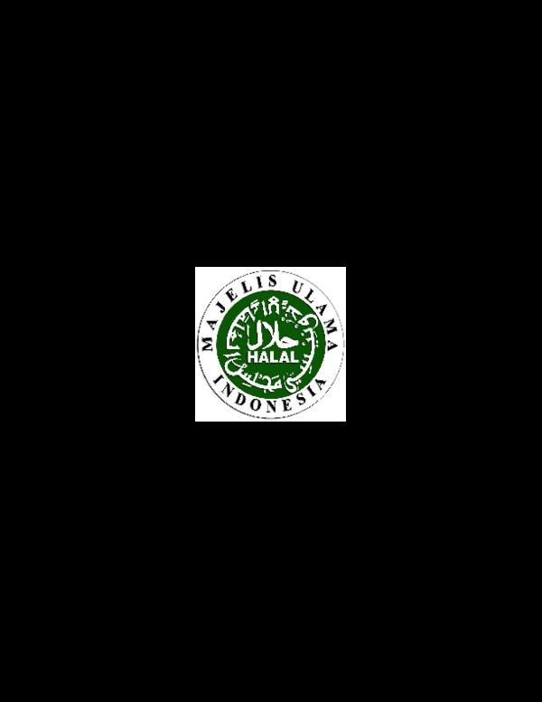 Pdf Panduan Umum Sistem Jaminan Halal Lppom Mui Quro Herbal