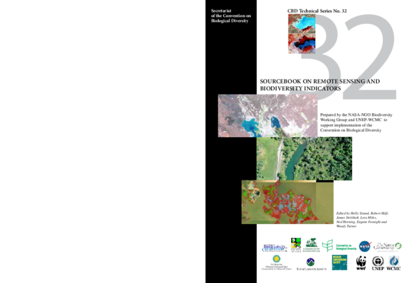PDF) Sourcebook on Remote Sensing and Biodiversity