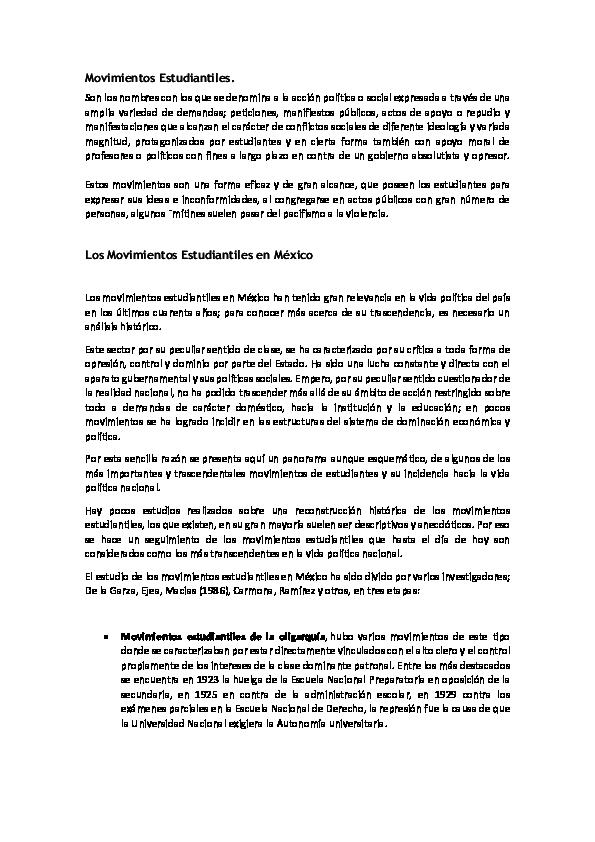 9989fc2373d PDF) Movimientos Estudiantiles | Salma Montes de Oca - Academia.edu
