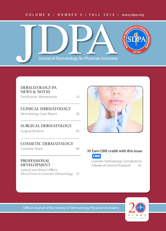 PDF) Cosmetic dermatology complications: A review of common